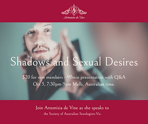 invitation to presentation on Jungian shadow and Desire