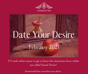Invitation to Date Your Desire Course