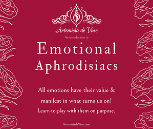 Invitation to Emotional Aphrodisiacs Workshop