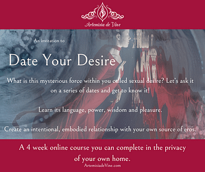 Invitation to Date Your Desire Online course